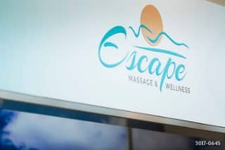 Escape Massage and Wellness storefront