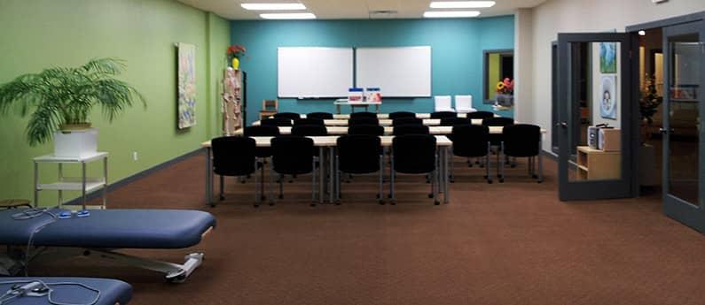 Classroom at Edmonton