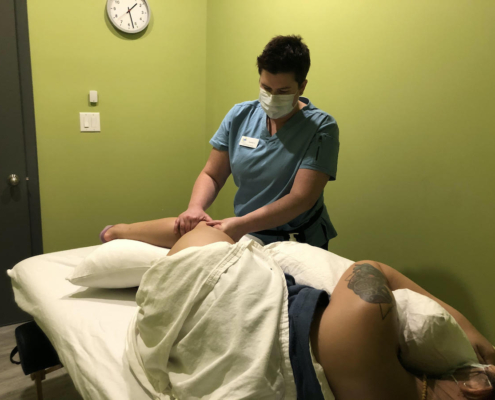 prenatal and postpartum massage