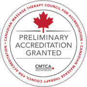 Preliminary Accreditation Granted Seal of the CMTCA